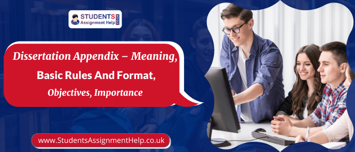 Dissertation Appendix - Meaning, Basic Rules and Format,Objectives, Importance