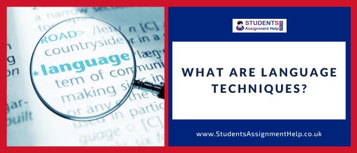 What Are Language Techniques?